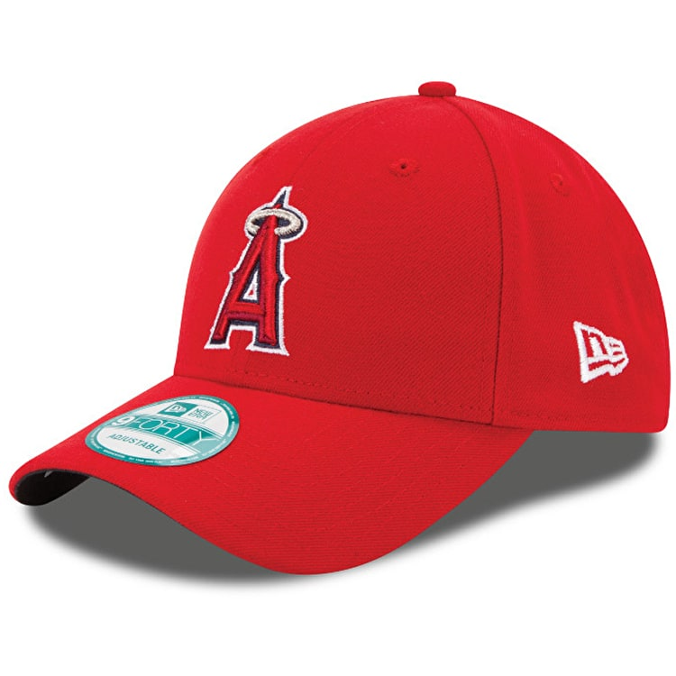 New Era Los Angeles Angels MLB The League 9FORTY Cap - Red