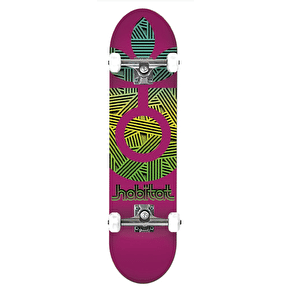 Habitat Interlaced Complete Skateboard - Purple - 8.0