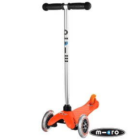 Mini Micro T-Bar Scooter - Orange