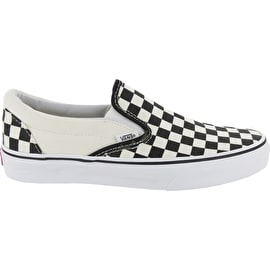 Vans Classic Slip-On Shoes - Black/White Checkerboard