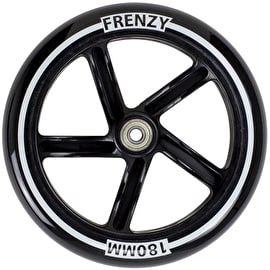 Frenzy 180mm Scooter Wheel w/Bearings - Black