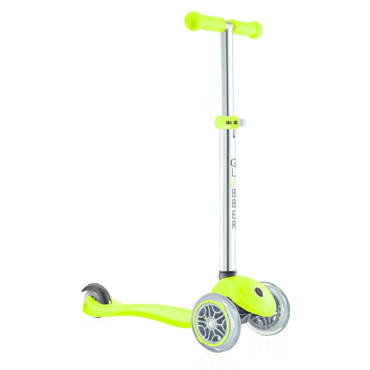 Globber My Free Primo Complete Scooter - Lime Green
