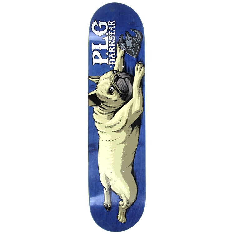 Darkstar Skateboard Deck - Bulldog R7 PLG 7.75""