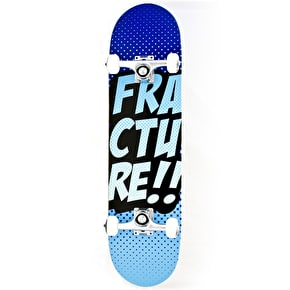 Fracture Skateboard - Comic VT Blue 8