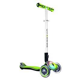 Globber My Free Elite Flash Complete Scooter - Lime Green