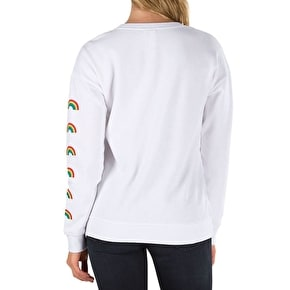 Vans Smiles Womens Crewneck - White