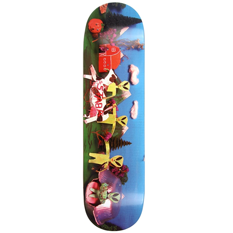 Skate Mental Staba Coast To Coast - Skateboard Deck 8.25""
