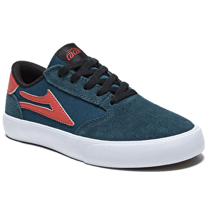 Lakai Pico Kids Shoes - Ink Blue Suede