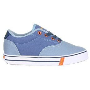 Heelys Launch - Denim/Light Blue/Orange