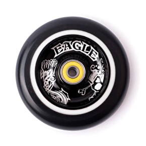 Eagle Limited Full Core 110mm 2-Layer Scooter Wheel - Skeleton/White/Black