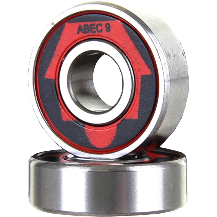Skatehut ABEC 9 Bearings (Pack of 2)