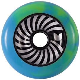 Blazer Pro Vertigo Swirl Wheel - Blue / Green 100mm