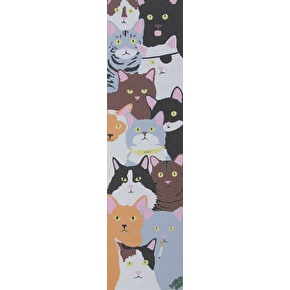 Enjoi x MOB Cat Collage Skateboard Grip Tape - Multi