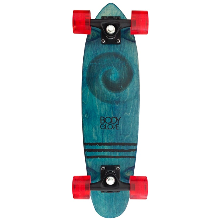 Body Glove x Mello Collab Thruster Longboard/Red LED wheels