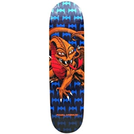 Powell Peralta One Off Cab Dragon Skateboard Deck - Blue/Red 7.5