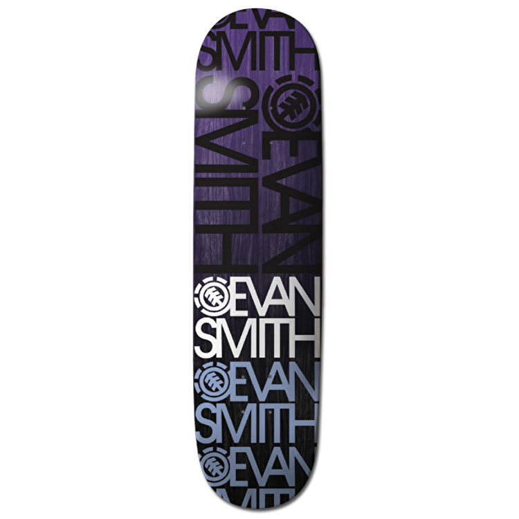 Element Name Brand Skateboard Deck - Evan 8.5""