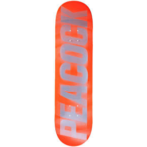 Primitive Vision Test Skateboard Deck - Peacock 8.0