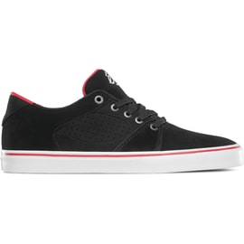 eS Square Three Skate Shoes - Black/White/Red