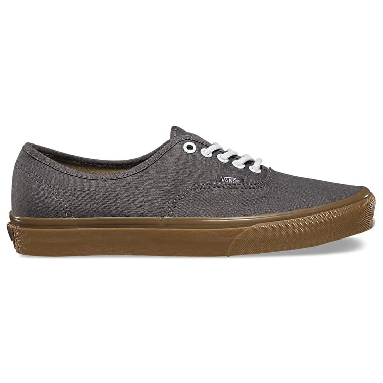 Vans Authentic Skate Shoes - (Gumsole) Pewter/Light Gum