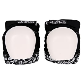 187 Pro Knee Pads - Black/White