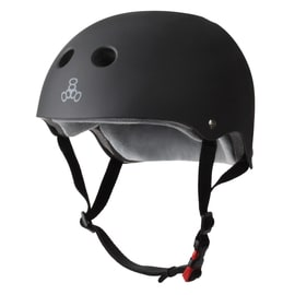 Triple 8 The Certified Sweatsaver Helmet - Black Rubber