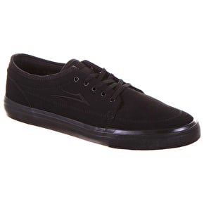 Lakai Madison Shoes - Black/Black Nubuck