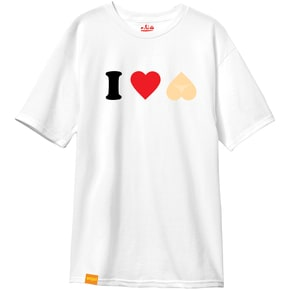 Enjoi I Heart Hearts T-Shirt - White
