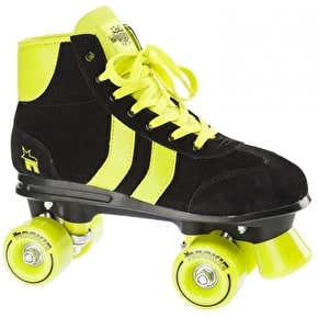 Rookie Retro Roller Skates - Black / Lime