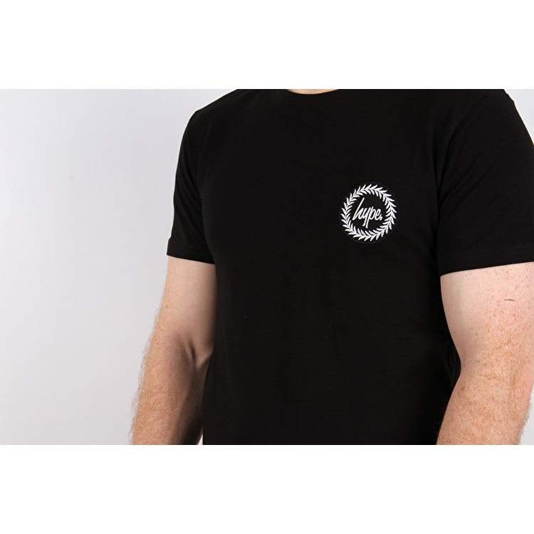 Hype Believe The Rose T Shirt - Black
