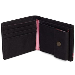 Herschel Roy + Coin RFID Wallet - Black