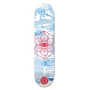Karma Skateboard Deck - MK Ultra - White - 7.875