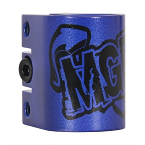 MGP Triple  Collar Clamp - Blue