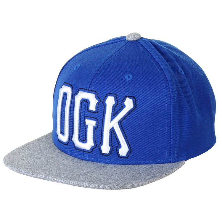 DGK Getters Snapback Cap - Royal/Grey