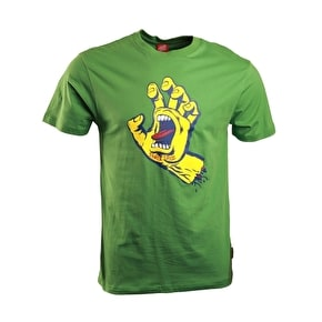 Santa Cruz Screaming Hand T-Shirt - Mint Green