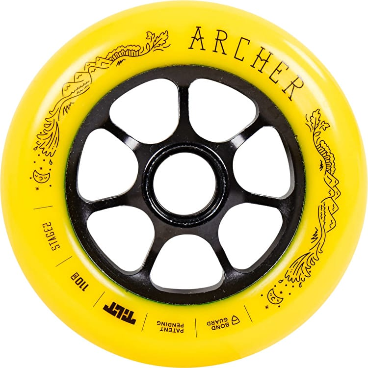 Tilt Jon Archer 110mm Signature Scooter Wheel