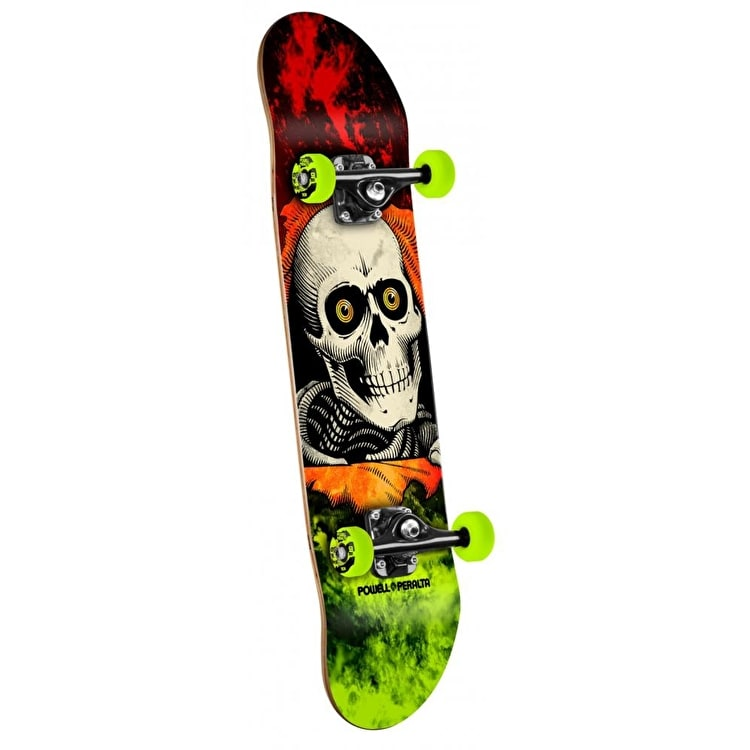 Powell Peralta Skateboard - Storm Ripper Red/Green 8""