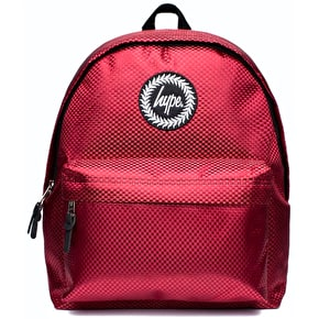 Hype Woven Backpack - Red