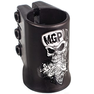 MGP Oversized Madd Hatter Triple Collar Clamp - Black
