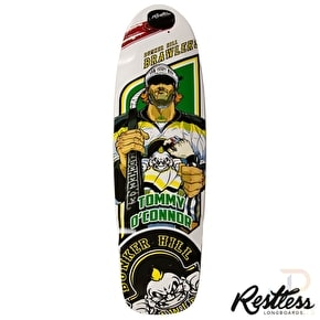 Restless Longboard Deck - RockSteady Brawlers 30.5