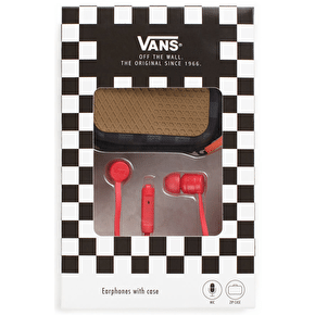 Vans Earphones - Red