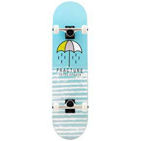 Fracture Brolly Complete Skateboard - Blue 8