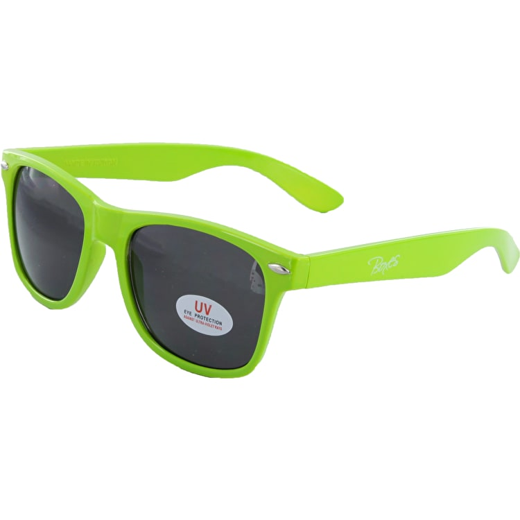 "Boxes Limited ""cool Guy"" Sunglasses - Lime Green"
