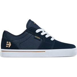 Etnies Barge LS Kids Skate Shoes - Navy