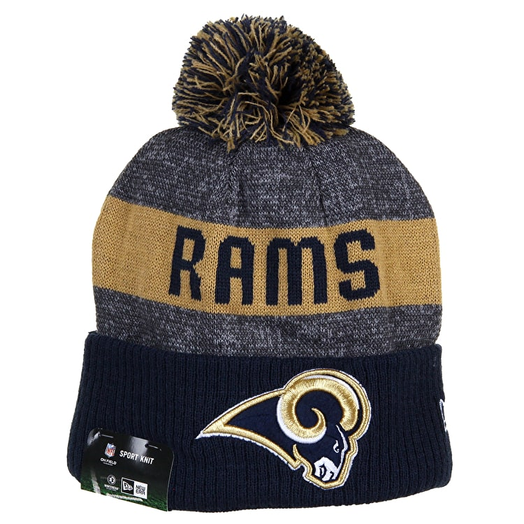 New Era Sideline Beanie - Los Angeles Rams