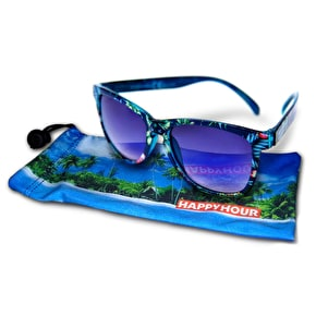 Happy Hour Microfibre Sunglasses Bag - Tropical