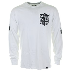 Who? Union Longsleeve T-Shirt - White