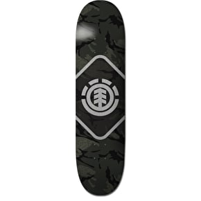 Element Map Camo Skateboard Deck - 8