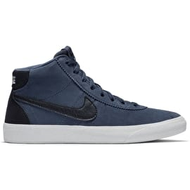 Nike SB Bruin Hi Womens High Top Skate Shoes - Thunder Blue/Black