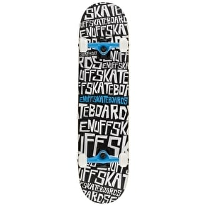Enuff Scramble Complete Skateboard - Black/White