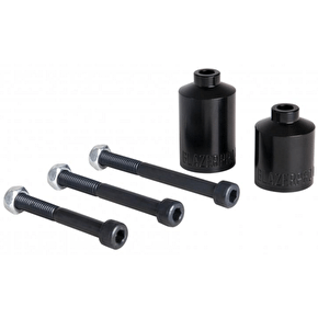 Blazer Pro Chromoly Fat Scooter Pegs - Black